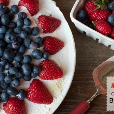 Red, White and Blue Berry Pie from Bunches O Lunches