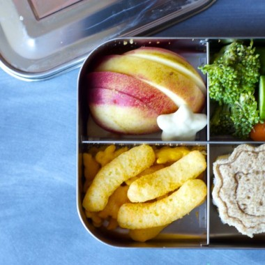Lunchbot Lion Bento from bunchesolunches.com