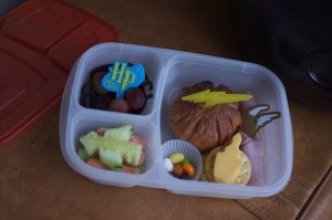 Harry Potter Bento from bunchesolunches.com