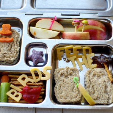 Mary Poppins Inspired Bento from bunchesolunches.com