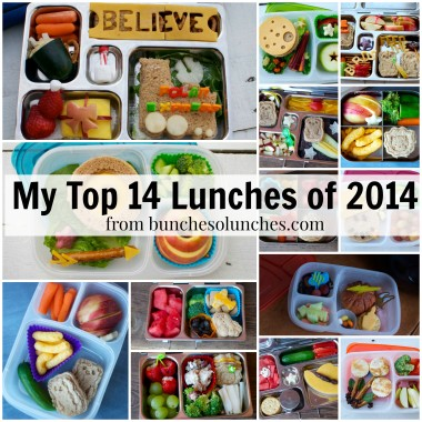 My Top 14 Lunches of 2014 from bunchesolunches.com