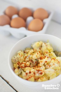 Egg Salad from bunchesolunches.com