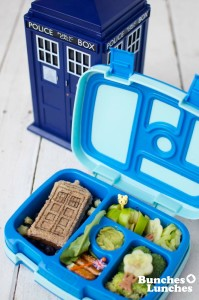 Dr Who Bento Lunch from bunchesolunches.com