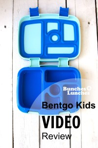 Bentgo Kids Video Review from bunchesolunches.com