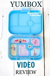 Yumbox Video Review from bunchesolunches.com