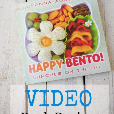 Book Review for Happy Bento by Anna Adden from bunchesolunches.com