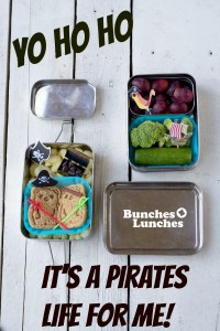 Pirate Bento Lunch for Talk Like a Pirate Day from bunchesolunches.com