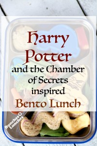 Harry Potter and the Chamber of Secrets Inspired Bento Lunch from bunchesolunches.com