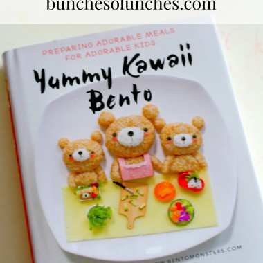 Yummy Kawaii Bento Book Review from bunchesolunches.com