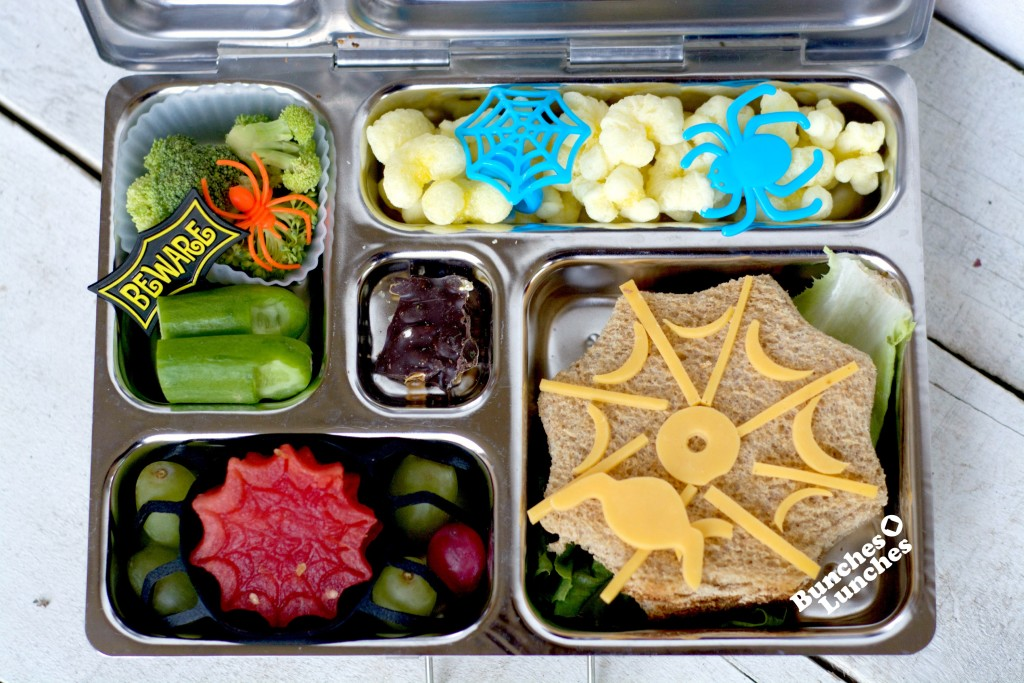 Spider Bento Lunch from bunchesolunches.com