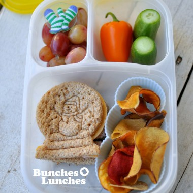 Snowman Lunch from bunchesolunches.com