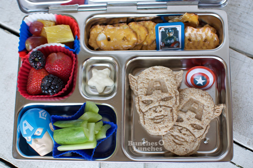 Captain America Civil War Lunch from bunchesolunches.com